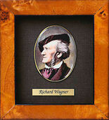 Miniature portrait of Richard Wagner (1813-1883)