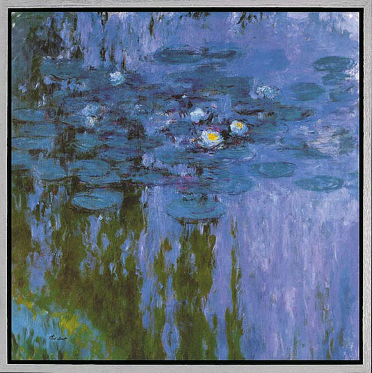 "Claude Monet: Picture ""Water Lilies II"" (Nymphs 1916-19)"