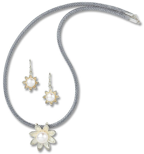 "Bernd Gliem: Jewellery set ""Floral Dream"""