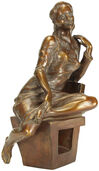 "Skulptur ""Bauhaus-Muse"", Version in Bronze"