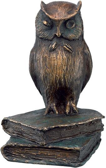 """Kurt Arentz: Skulptur """"Eule"""", Bronze"""