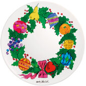 "Porzellanteller ""Christmas - Wreath"""