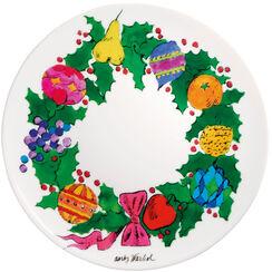 "Porzellanteller ""Christmas - Wreath"""