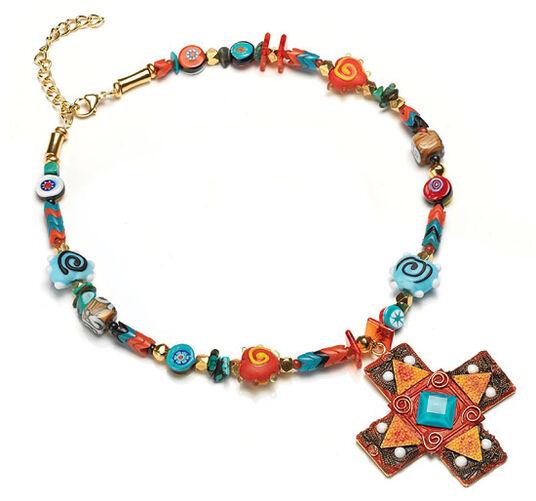 """Petra Waszak: Necklace """"Africa"""""""
