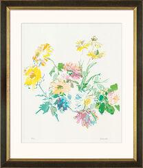 """Bild """"Herbstblumen"""" (1975), gerahmt"""