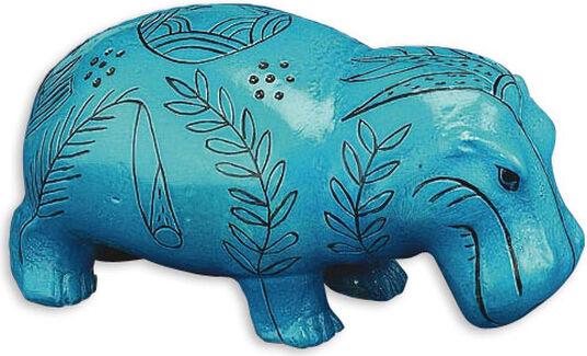 Hippo calf, standing