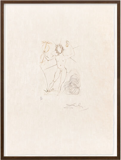 "Salvador Dalí: Bild ""Mércure"" (1968)"