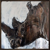 """Bild """"Nashorn 10"""" (2014) (Unikat)"""