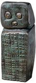 """Skulptur """"Ohne Titel"""", Bronze"""
