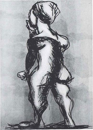 """Markus Lüpertz: Bild """"Philosophon"""" (1999)"""