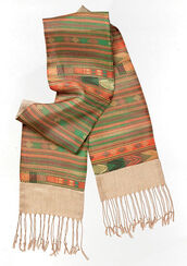 "Pashmina scarf ""Colours of Africa"""