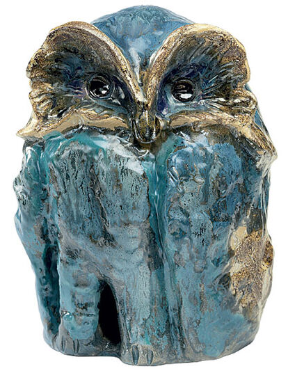 "Ursula Keusgen: Garden Object ""Owl"" (Big Version)"