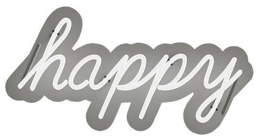 "Sygns: Neon Leuchtkunst ""Happy"""
