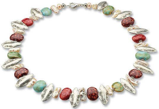 """Anna Mütz: Necklace """"Spring"""""""