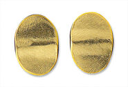 "Ear studs ""Gold plates"""