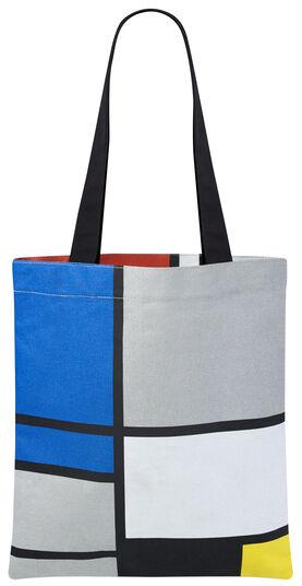 """Piet Mondrian: Tragetasche """"Komposition in Rot, Blau, Schwarz, Gelb und Grau"""""""