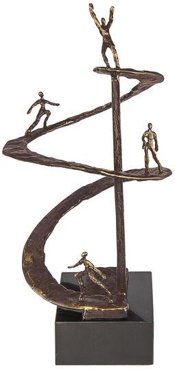 """Gerard: Skulptur """"Erfolgsspirale"""""""