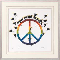 """Bild """"Peace"""", gerahmt"""