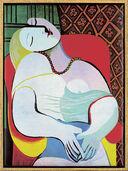 """Bild """"Der Traum"""" (1932), gerahmt"""