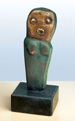 "Skulptur ""Graziella"", Bronze"