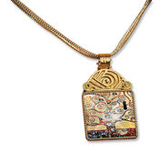 "Necklace ""Stoclet Frieze"" - by Gustav Klimt"
