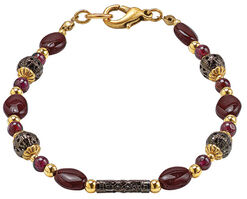 "Armband ""Victorian Garnet"""