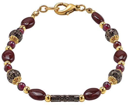 "Michal Golan: Armband ""Victorian Garnet"""