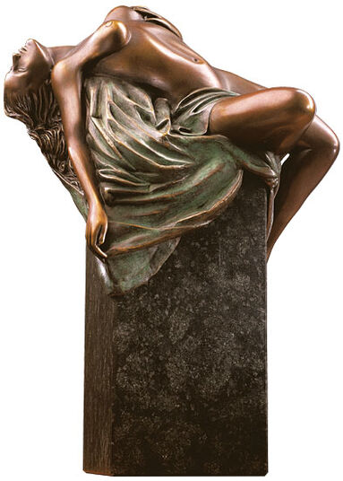 Thomas Schöne: Sculpture 'Psyche', version in cold cast bronze