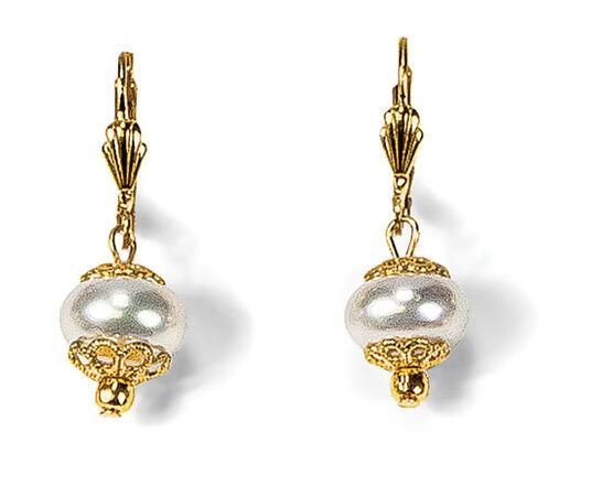 "Petra Waszak: Earrings ""Queen Bee"""