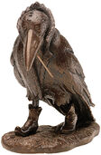 "Sculpture ""Raven"" - according to Rudi Hurzlmeier art bronze edition"