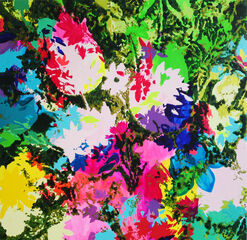 "Bild ""Bright Bouquet 09.14"" (2014) (Unikat)"