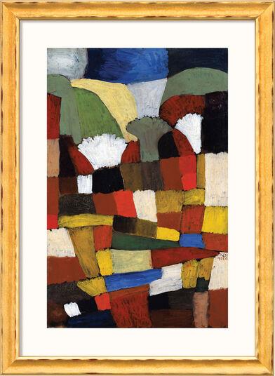 """Paul Klee: Bild """"Garten in P. H."""" (1925), gerahmt"""