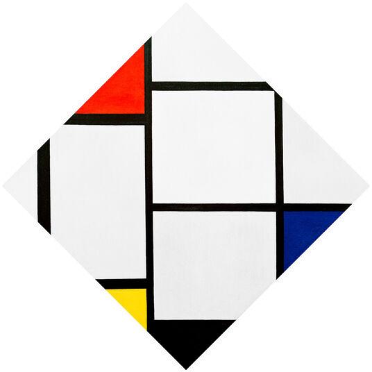 """Piet Mondrian: Bild """"Tableau Nr. IV"""""""