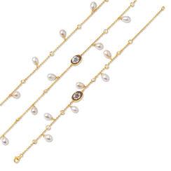 "Jewelry Set ""Collana di Perle"""