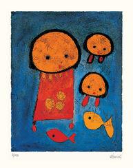"Bild ""Vengano della pesca"" (2001), ungerahmt"