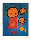 """Bild """"Vengano della pesca"""" (2001), gerahmt"""