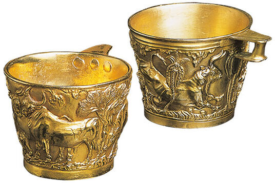 Minoan Gold Cups