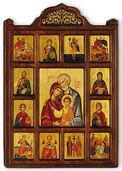 Family icon with Patron Saints