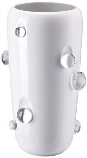 """Charlotte von der Lancken: Vase """"Dagg 27 cm"""", Porzellan/Glas"""