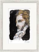 """Bild """"Friedrich Schiller"""" (2014), gerahmt"""