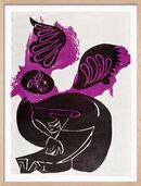 """Bild """"Für Martin Luther King"""" (1966), gerahmt"""