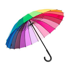 "Stick Umbrella ""Color Wheel"""