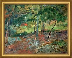 """Bild """"Tropische Landschaft auf Martinique"""" (1887), gerahmt"""