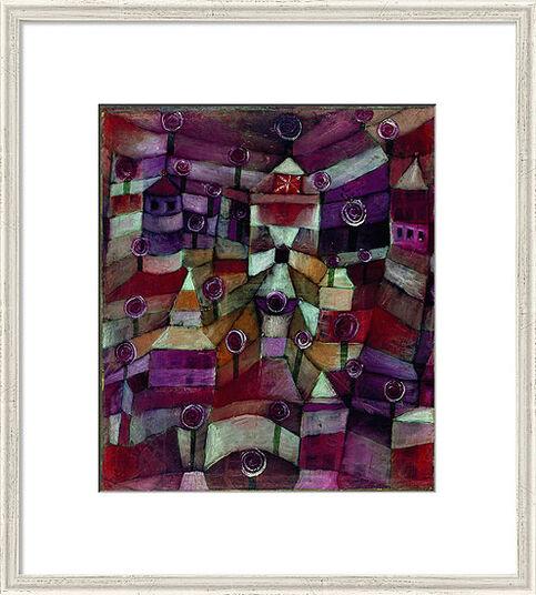 "Paul Klee: Bild ""Rosengarten"" (1920), gerahmt"