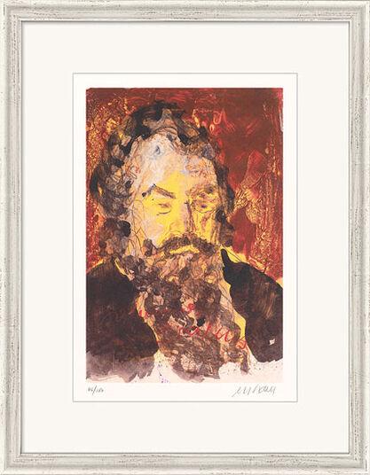 """Armin Mueller-Stahl: Bild """"Johannes Brahms"""" (2012), gerahmt"""