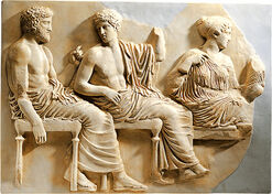 Parthenon - Group of Gods seated