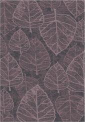 """Teppich """"Vintage"""" (200 x 290 cm), Version in Aubergine"""