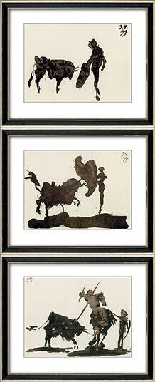 "Pablo Picasso: ""Torros y Toreros I-III"""