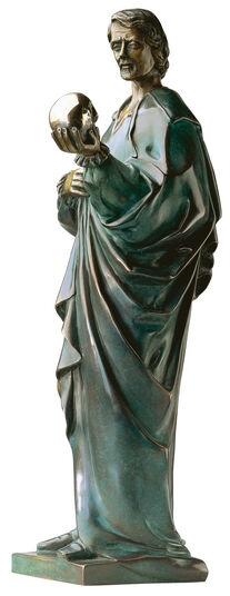 """Thomas Schöne: Sculpture """"Hamlet"""", Version in Bronze"""