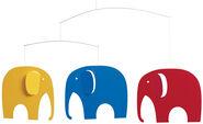 """Decken-Mobile """"Elefantentreffen"""""""